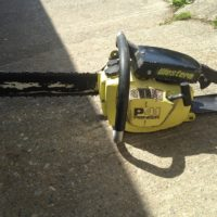 20 inch Pioneer P41 chain saw